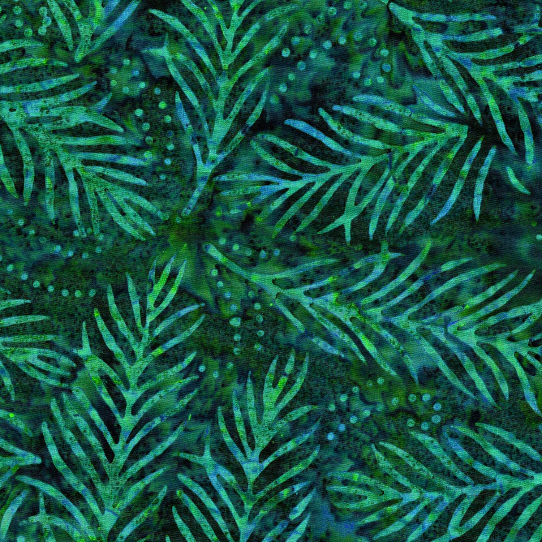 108in Wide Delicate Fronds - Dk Green<br/>Wilmington Prints 1054-2082-747
