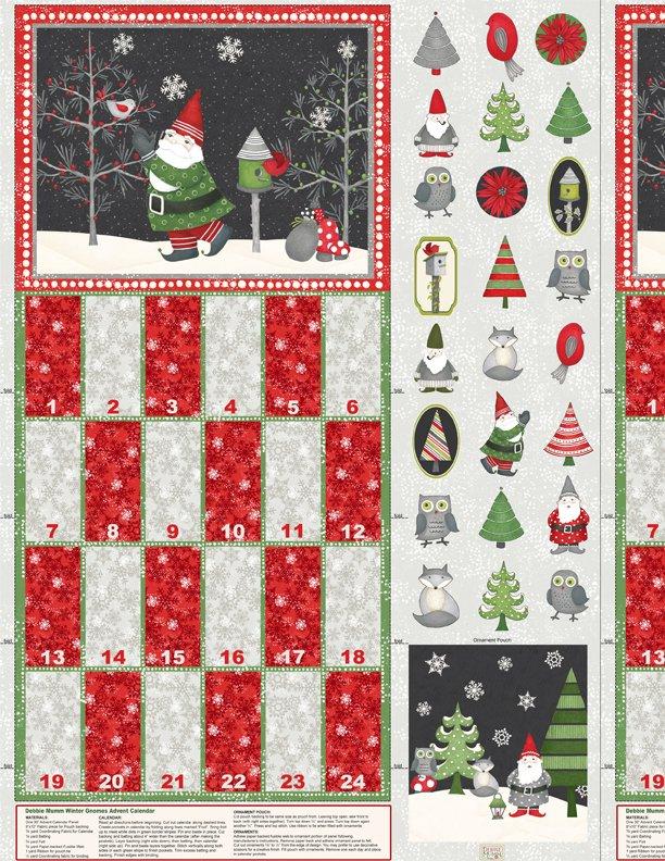 Winter Gnomes Advent Panel<br/>Wilmington 67570-937