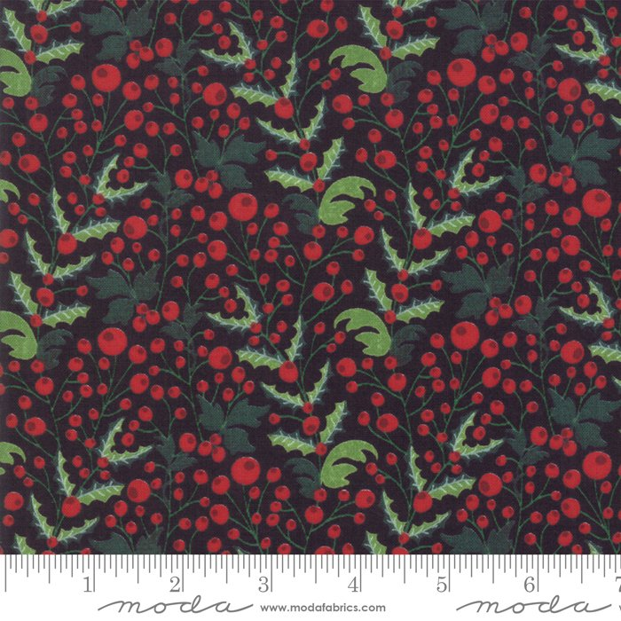 Kringle Claus Holly Berry Coal<br/>Moda 30593-12