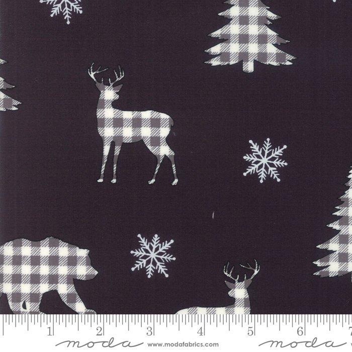 Buffalo Plaid Forest Charcoal<br/>Moda 19891-13