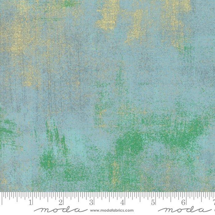 Grunge Metallic Blue<br/>Moda 30150-60M