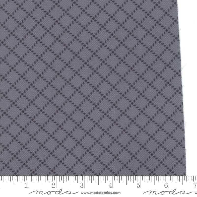 Barb Wire Graphite<br/>Moda Flannels 49105-13F