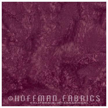 Sonoma - Wine Plum<br/>Hoffman Fabrics 1895-241