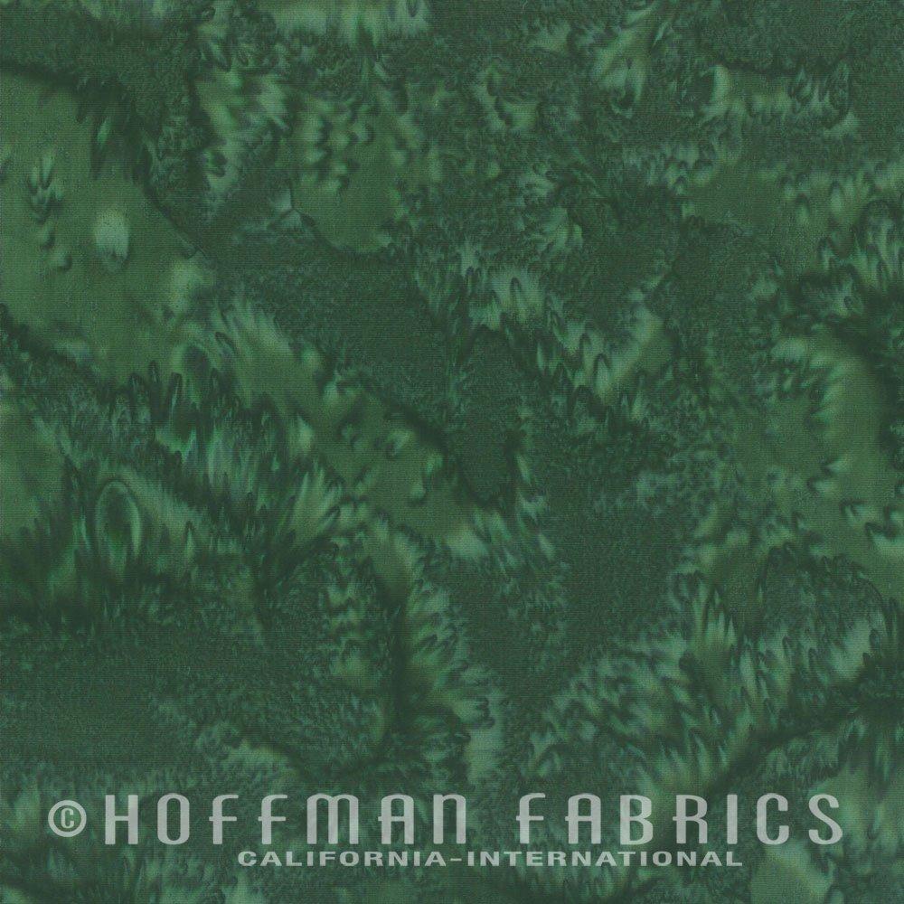 Christmas Green<br/>Hoffman Fabrics 1895-189