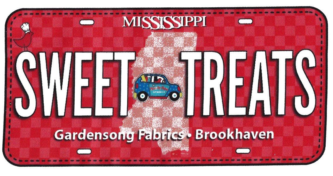 Sweet Treats FabricPlate<br/>Zebra Patterns 2019 RxR