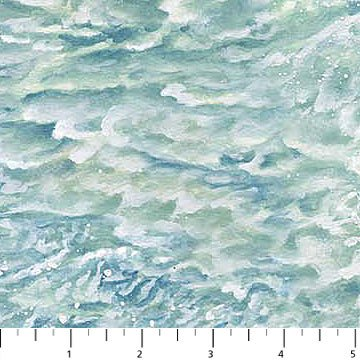 Naturescapes Aqua Waves<br/>Northcott 21391-62