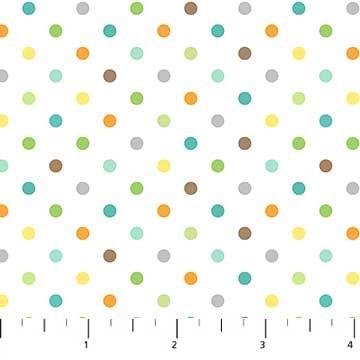 Jungle Friends Dots<br/>Northcott 21796-10
