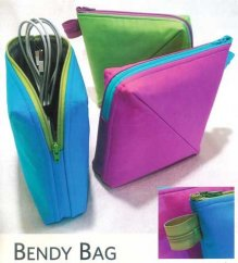 Bendy Bag by Lazy Girl Designs