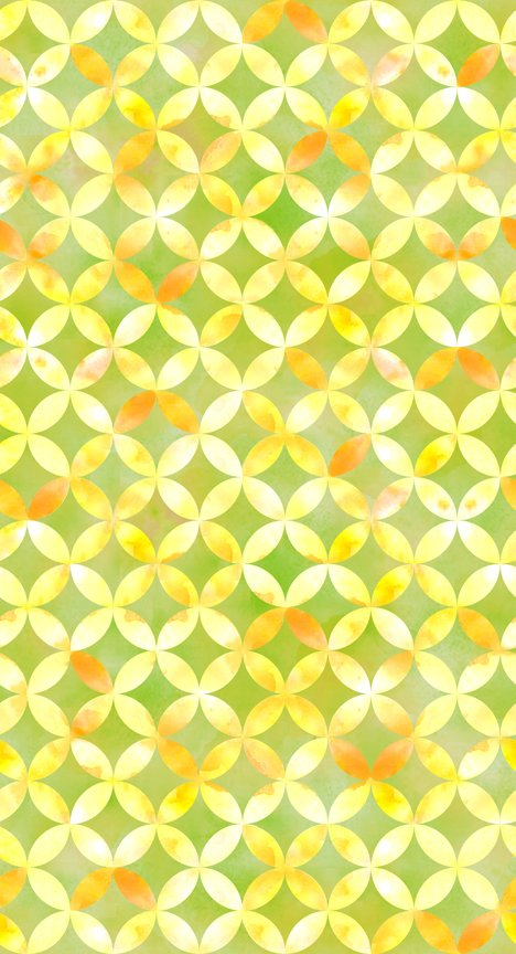 Circle Geo - Green<br/>Quilting Treasures 24677-G