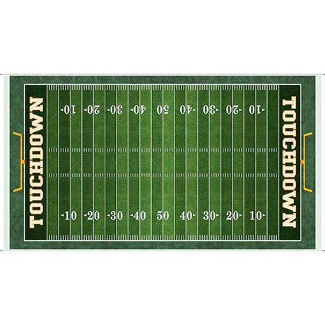 Football Field Panel<br/>Quilting Treasures 26173-G