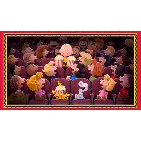 Popcorn & Peanuts Panel<br/>QT Fabrics 26839-X