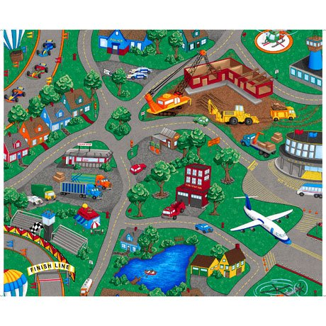 Sew & Go VII Playmat Panel<br/>QT Fabrics 26933-X