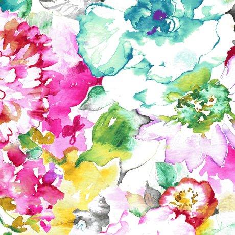 Annabelle Watercolor Floral<br/>QT Fabrics 26946-X
