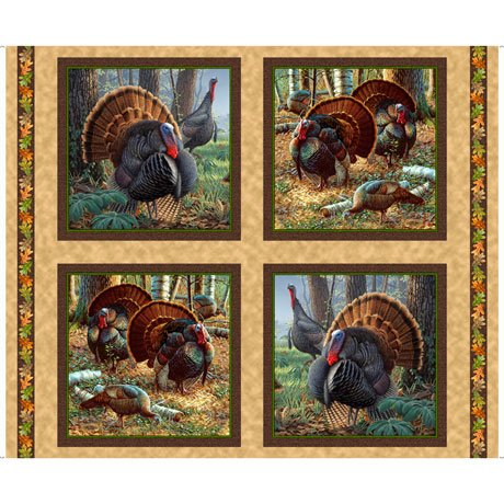 Turkey Hill Picture Panel<br/>QT Fabrics 27168-X