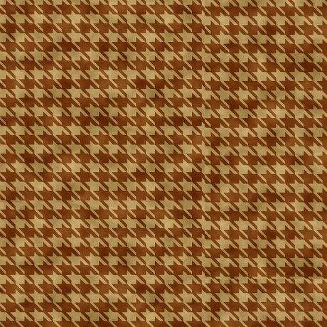 Turkey Hill Houndstooth Brown<br/>QT Fabrics 27171-A