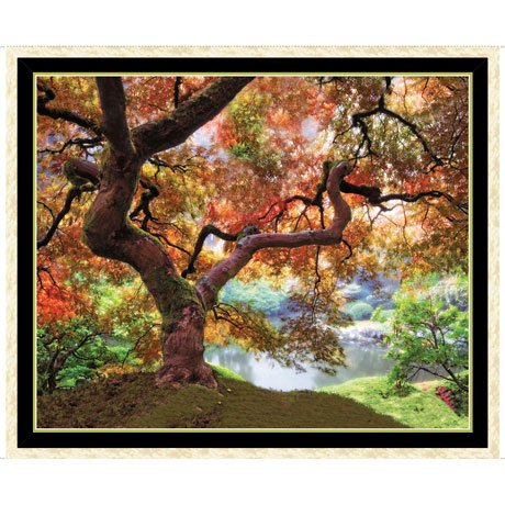 Artworks XII Tree Panel<br/>QT Fabrics 27199-X