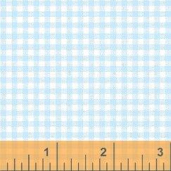 Gingham - Baby Blue<br/>Windham Fabrics 29401-14
