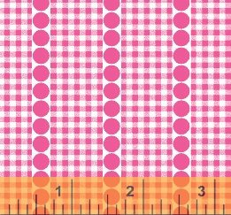 Gingham Dot - Dark Pink<br/>Windham Fabrics 29402-4