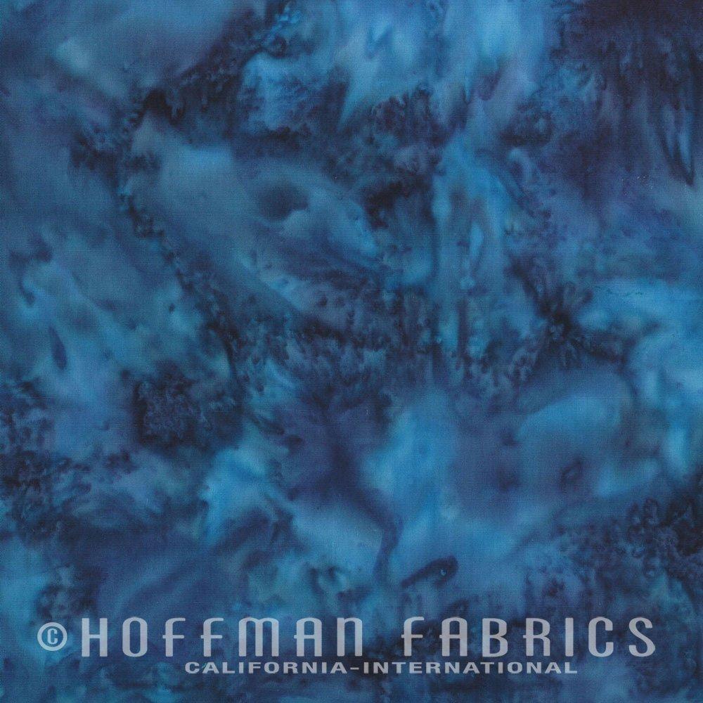 Macaw - Blue<br/>Hoffman Fabrics 1895-317