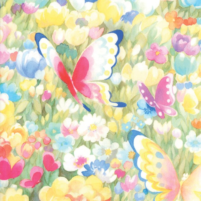 Butterfly Fields Multi<br/>Moda 33461-11