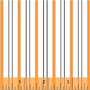 Stripes Two Color - Orange<br/>Windham 37513-3
