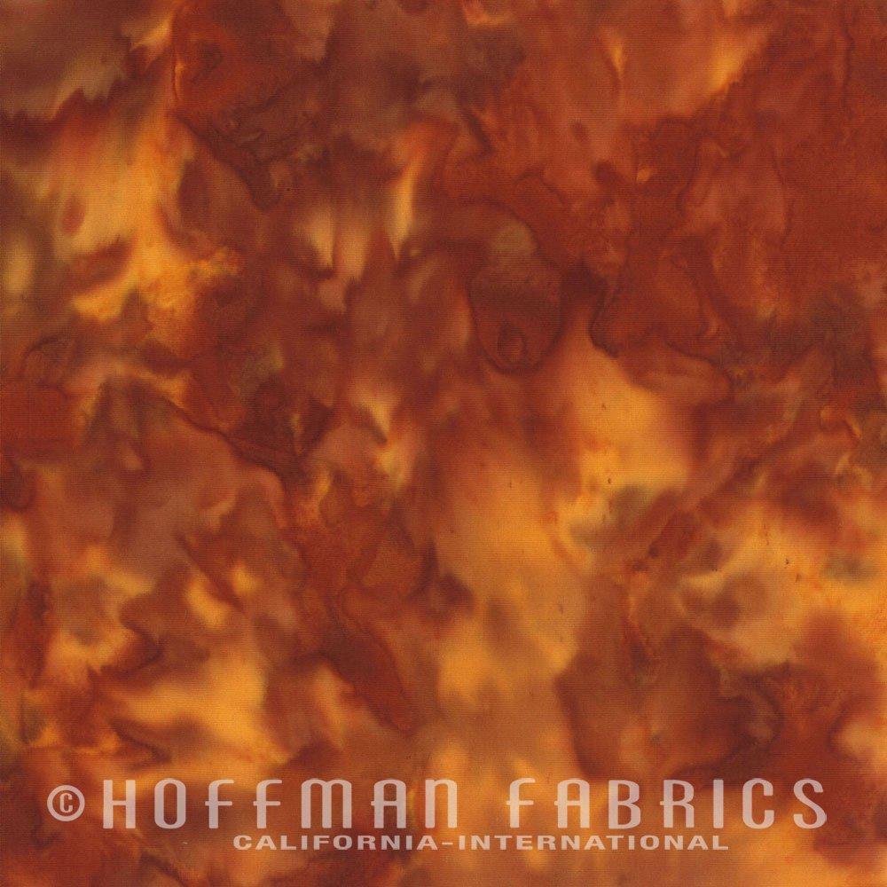 Paprika - Orange<br/>Hoffman Fabrics 1895-389