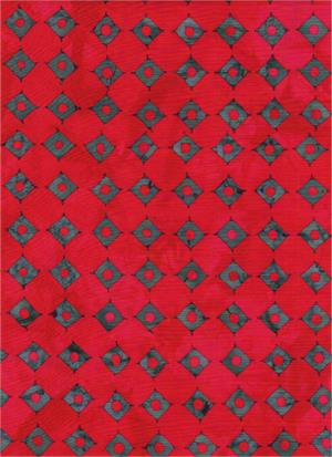 Water's Edge 3931 Red/Gray<br/>Batik Textiles