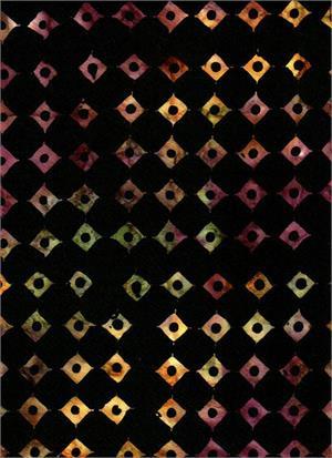 Water's Edge 3940 Black<br/>Batik Textiles
