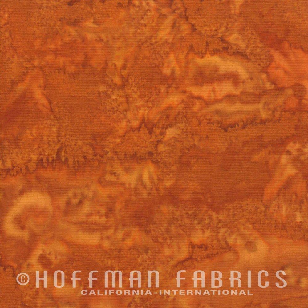 Refried Beans - Rusty Orange<br/>Hoffman Fabrics 1895-398