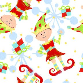 It's Christmas - Elves White FQ<br/>In The Beginning 3JHF-2