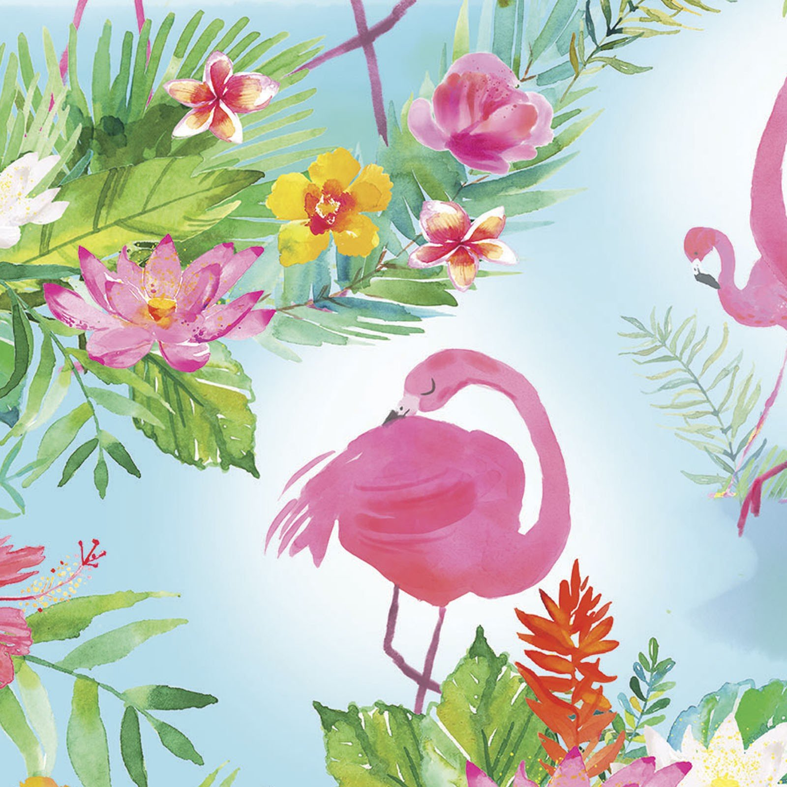 Tropicale Flamingo Scenes<br/>3Wishes 13775-TUR