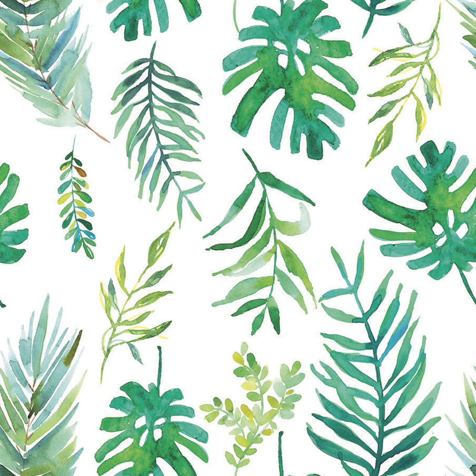 Tropicale Palm Fronds<br/>3Wishes 13776-WHI
