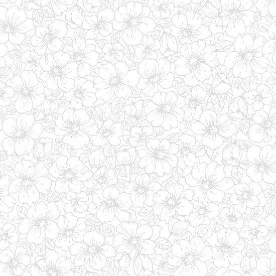 108in Touch of White Floral<br/>Studio-e 4115-01