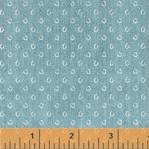 Sketchy Circles - Acid Wash FQ<br/>Windham 42299-3