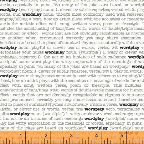 Wordplay Text - White FQ<br/>Windham 43141-4