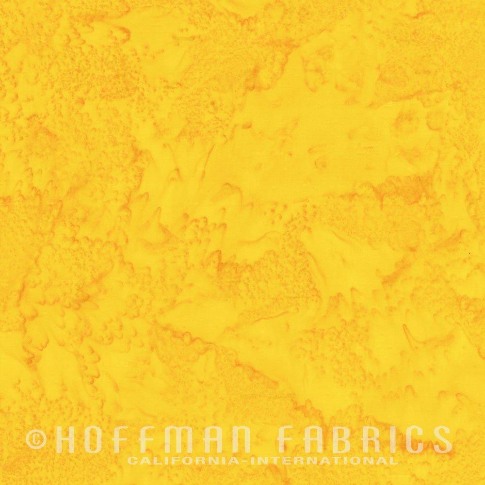 Buttercup - Dark Yellow<br/>Hoffman Fabrics 1895-471