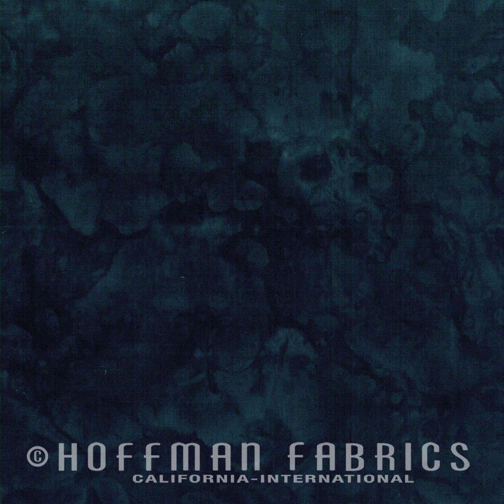 Black - Blue Black FQ<br/>Hoffman Fabrics 1895-004