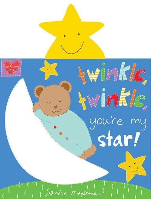 Twinkle, Twinkle Little Star Book Panel<br/>Studio-e 5055P-1