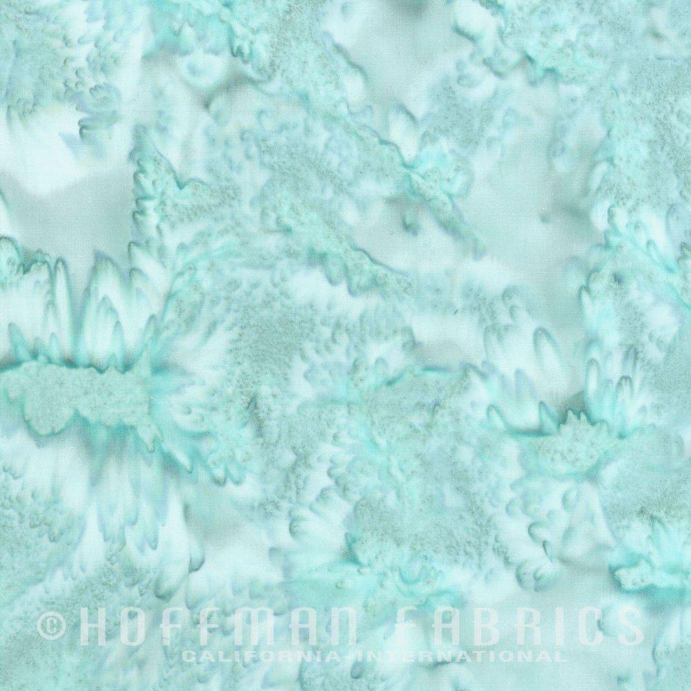 Aquarius - Aqua<br/>Hoffman Fabrics 1895-536