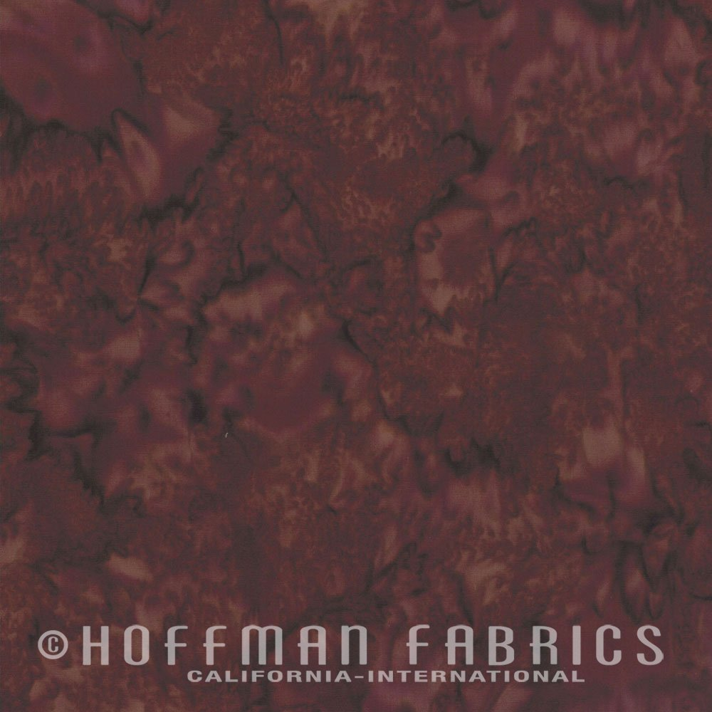 Barbeque - Brick Red FQ<br/>Hoffman Fabrics 1895-571