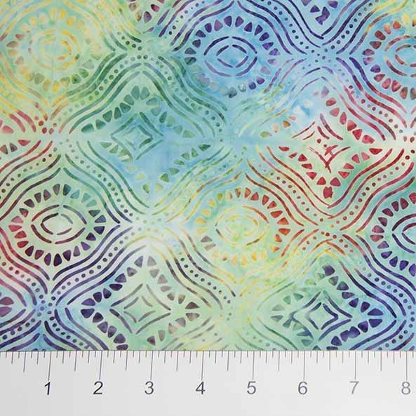 Sophie Mosaic - Multi FQ<br/>Banyan Batiks 80055-63