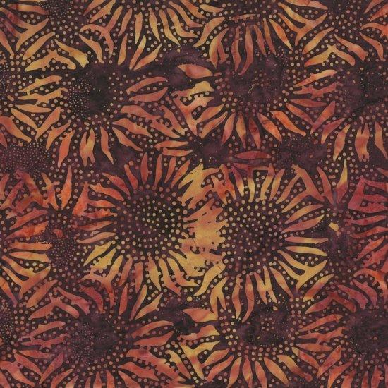 Sunflower Batik Nightshade<br/>Hoffman 884-533