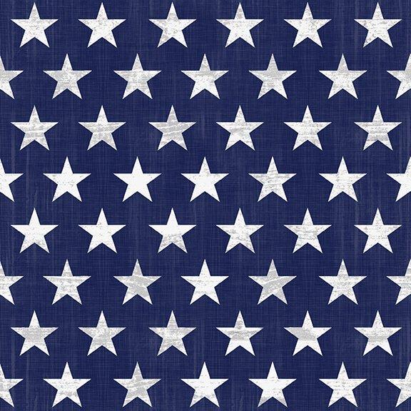 Live Free Blue Stars<br/>Henry Glass 9183-71