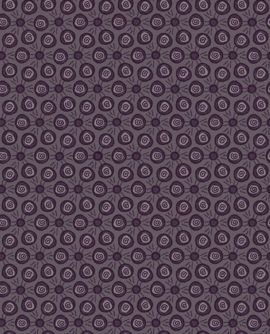 Scroll Dots - Purple<br/>Blank Quilting 9207-55
