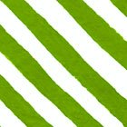 It's Christmas - Diagonal Stripe Green<br/>In The Beginning 9JHF-2