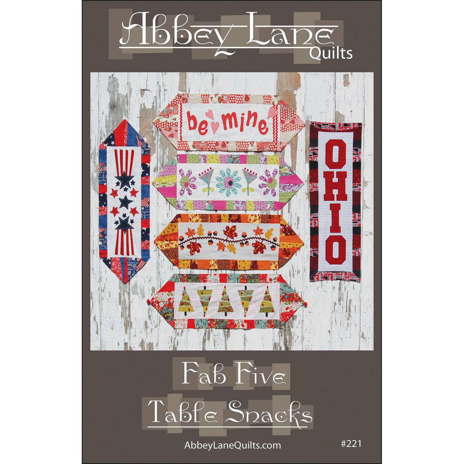 Fab Five Table Snacks<br/>Abbey Lane Quilts