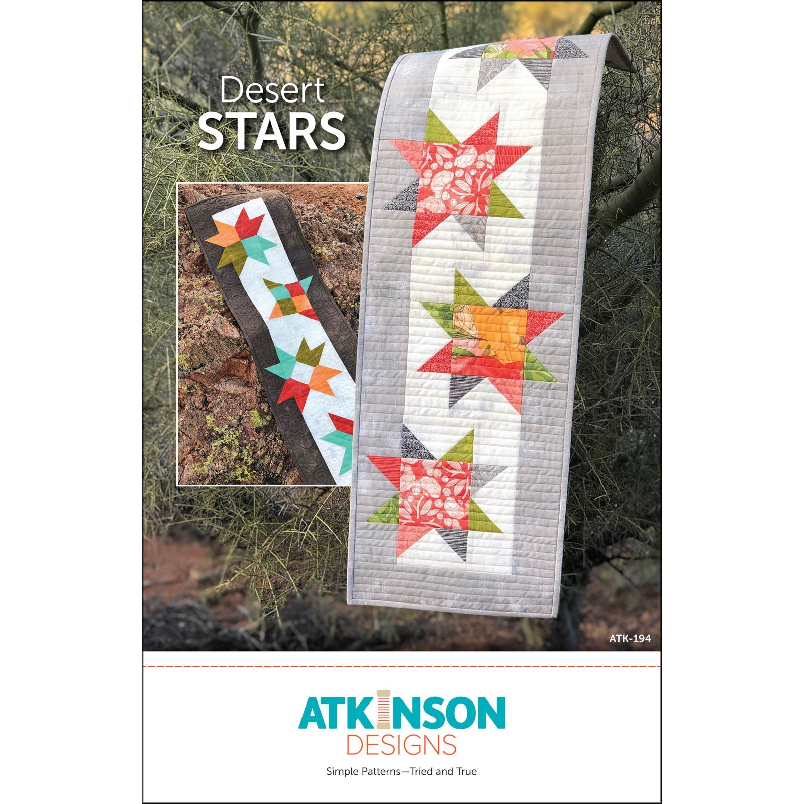 Desert Stars Table Runner<br/>Atkinson Designs ATK-194