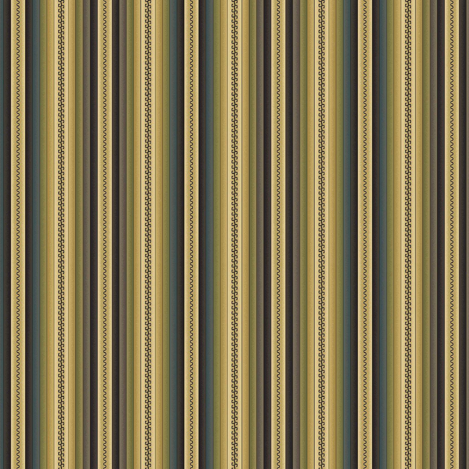 Blanket Stripe Teal/Multi<br/>Benartex 219285