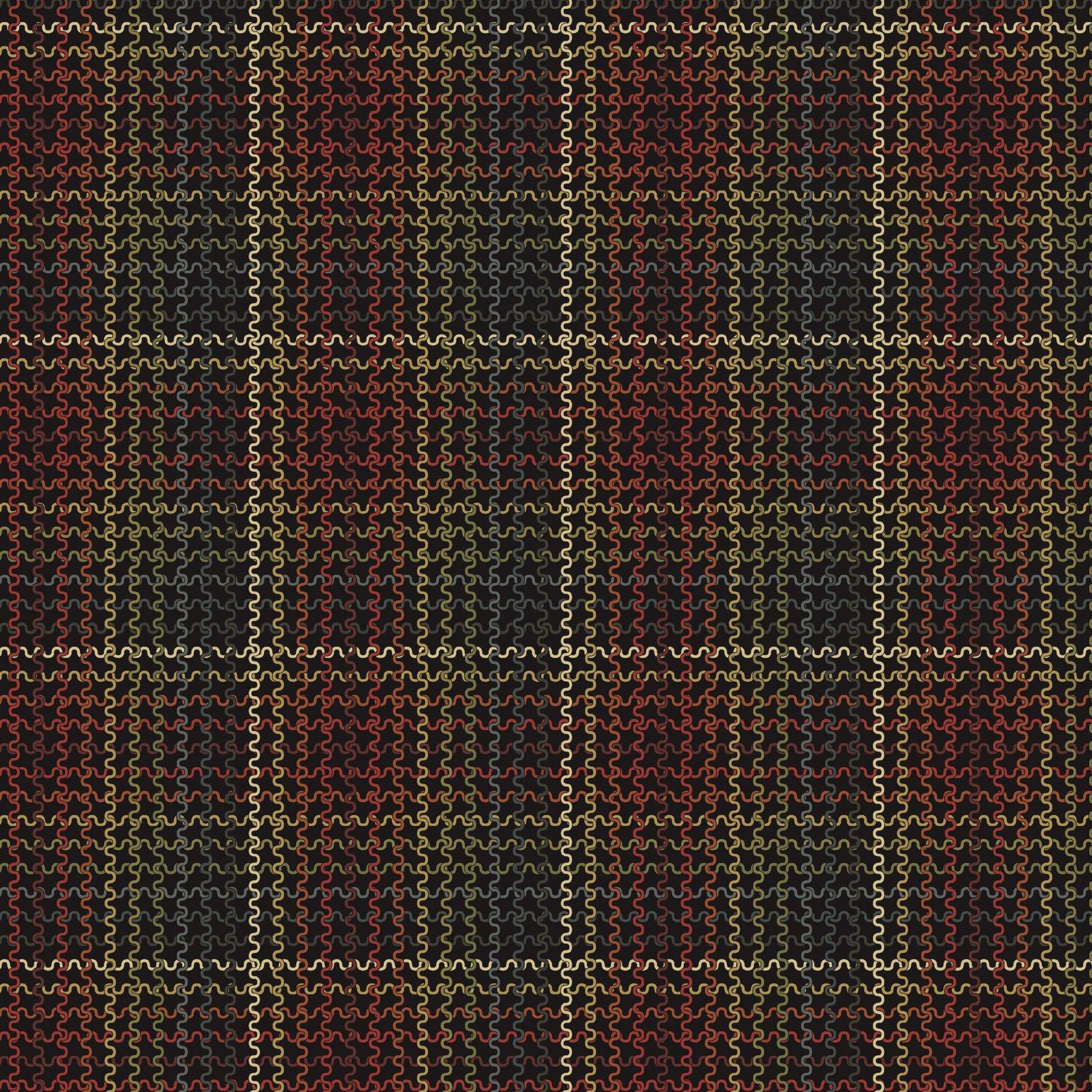 Woolen Plaid Claret/Multi<br/>Benartex 219319