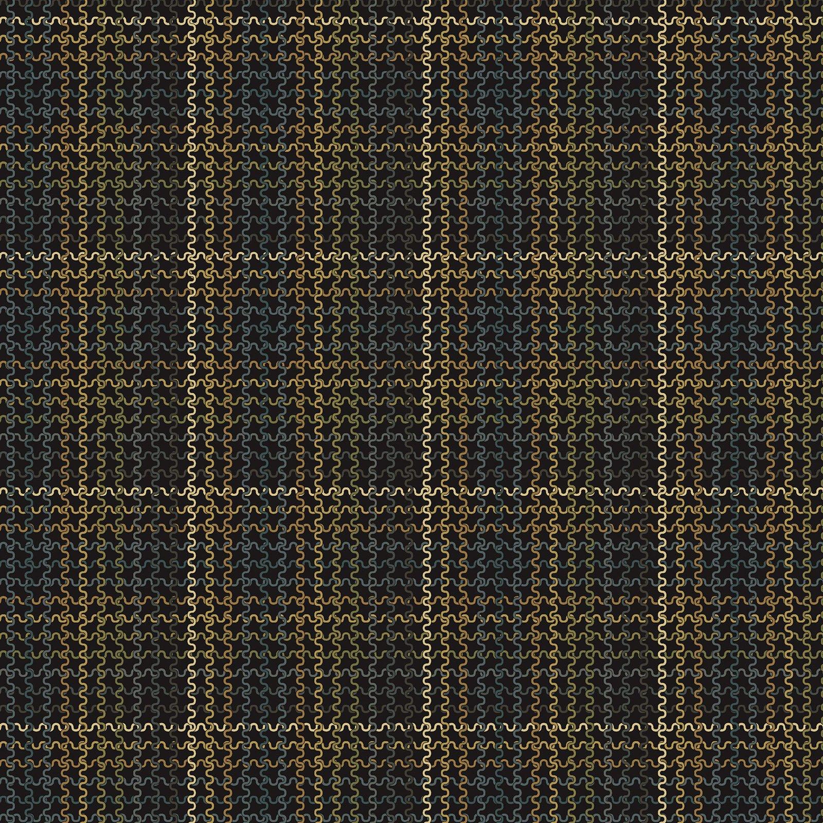 Woolen Plaid Teal/Multi<br/>Benartex 219385